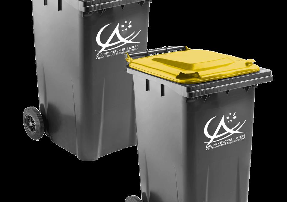 Rattrapage de collecte des déchets ménagers