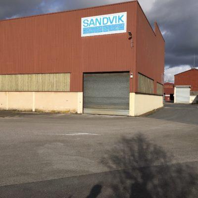 Bâtiment industriel à Chauny