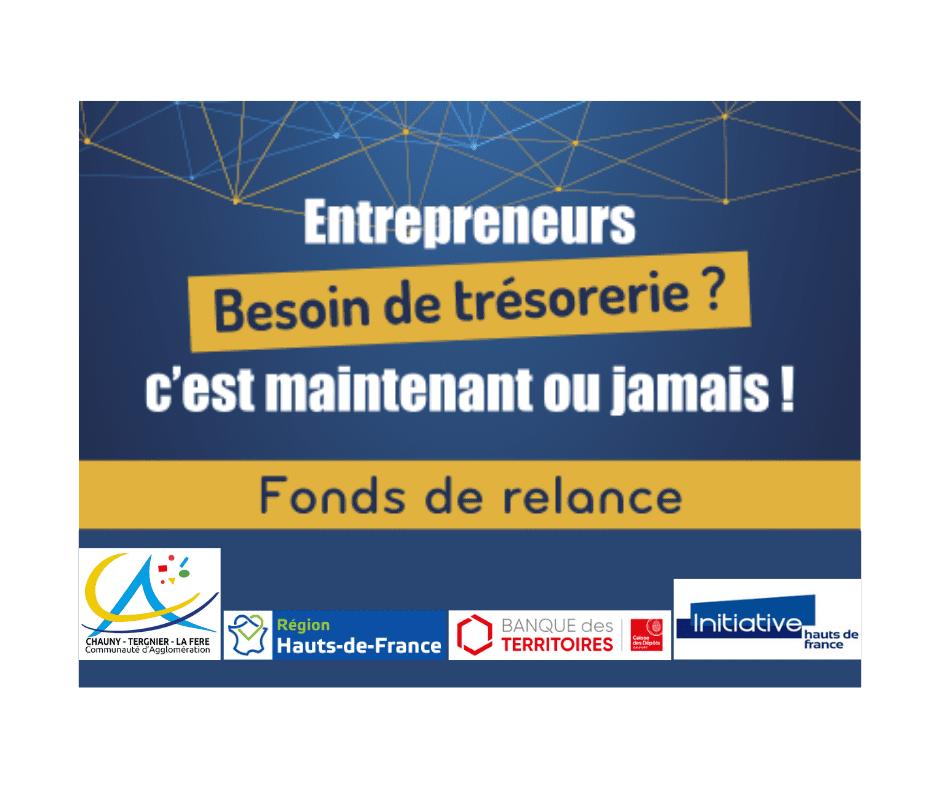 Fond de relance - Communauté d'Agglomération Chauny-Tergnier-La Fère