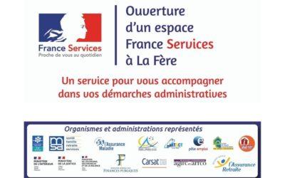 Ouverture d'un Espace France Services à La Fère