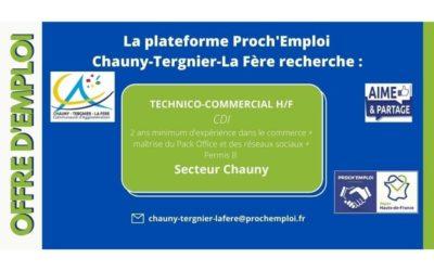 PROCH' EMPLOI – TECHNICO-COMMERCIAL H/F