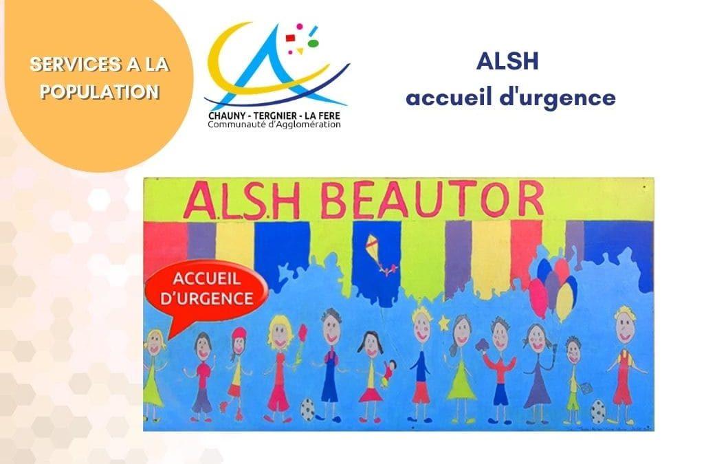ALSH : Accueil d'urgence