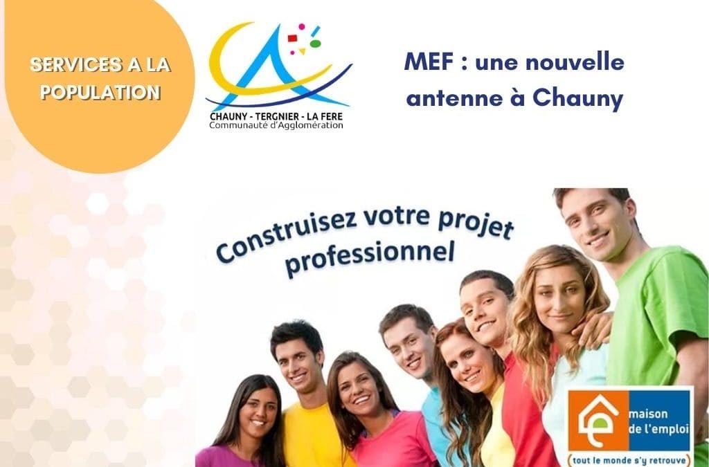 MEF : une nouvelle antenne à Chauny