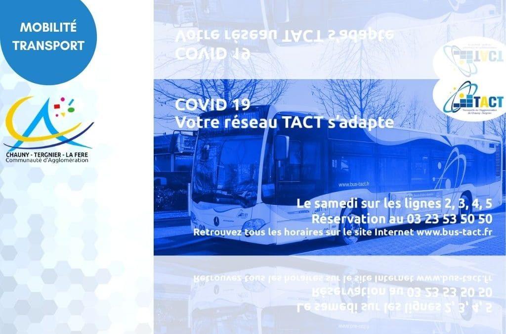 Covid 19 : Votre réseau Tact s'adapte