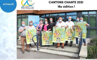 Cantons Chante est de retour pour sa 18e édition!