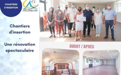 Chantiers d'insertions – Une rénovation spectaculaire