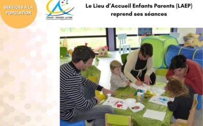Le Lieu d'Accueil Enfants Parents (LAEP) reprend ses séances