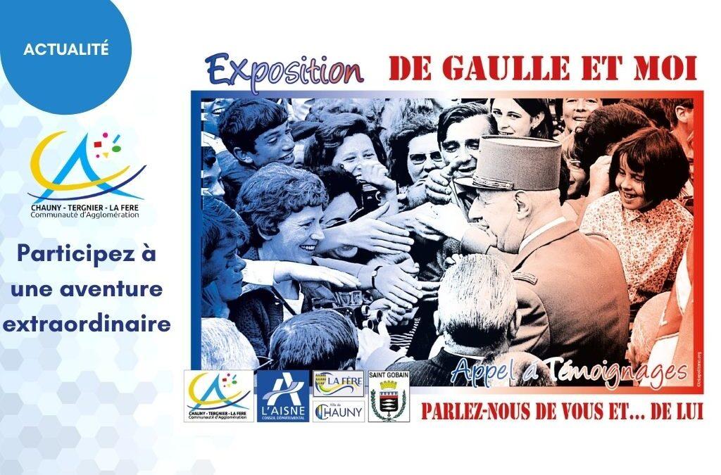 Participez à une aventure extraordinaire : Parlez-nous de lui, le Général de Gaulle, de lui et vous…