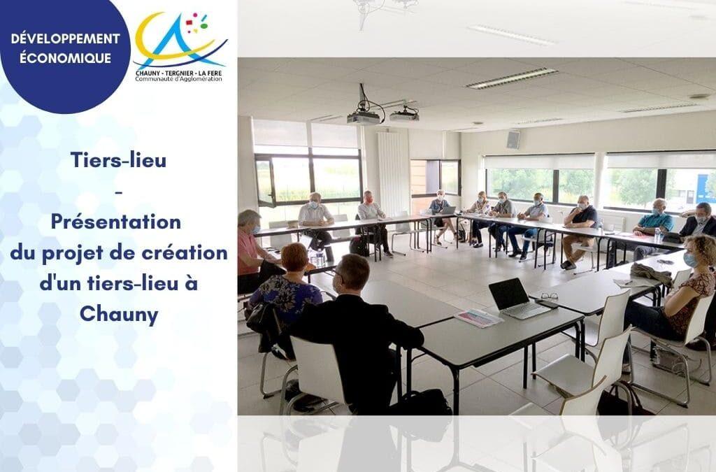 Réunion de présentation du projet de création d'un tiers-lieu à Chauny