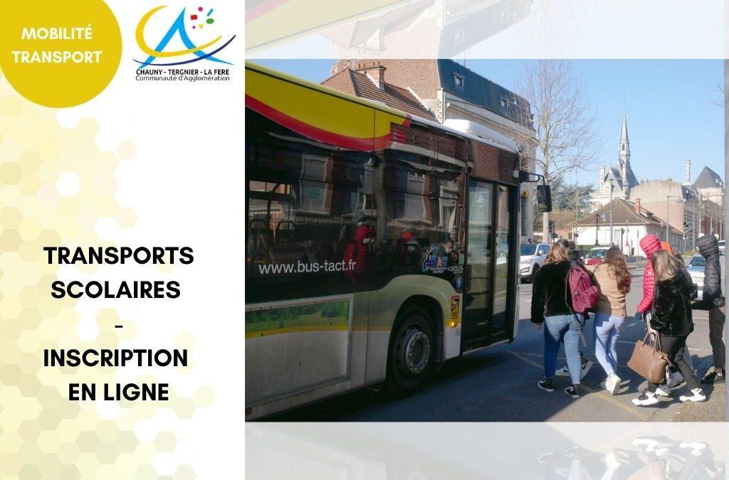 Rappel : Inscription aux transports scolaires