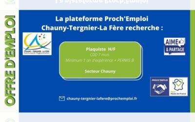 PROCH' EMPLOI – Plaquiste H/F