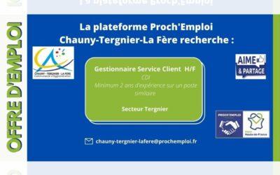 PROCH' EMPLOI – Gestionnaire Service Client H/F