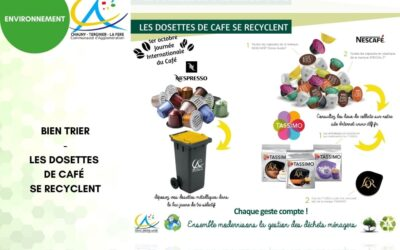 La journée internationale du café : Vos dosettes de café se recyclent !