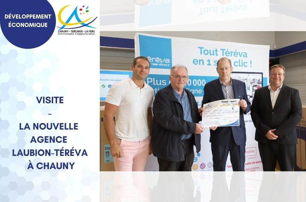 Visite – Laubion-Téréva une nouvelle agence dans l'Aisne